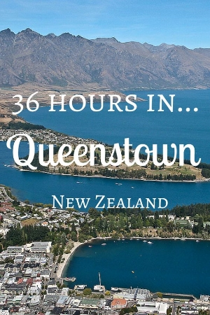 36 Hours in Queenstown, New Zealand. One couples blog of there adventures in Queenstown, New Zealand.