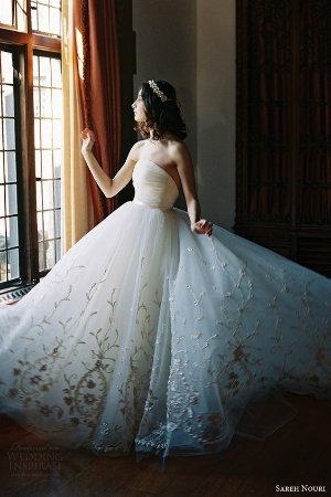 Sareh Nouri Bridal Spring 2017 Wedding Dresses.    From the runway direct to you.