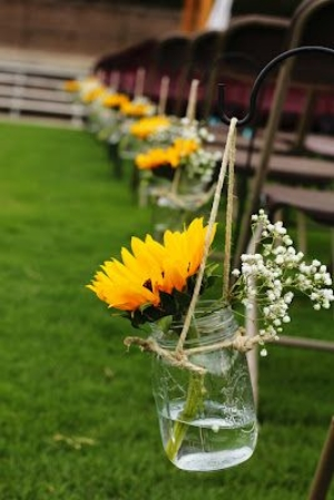 70 Sunflower Wedding Decorating and Invitation Ideas.    Delightful and cheerful sunflowers and how to use them for your wedding day.