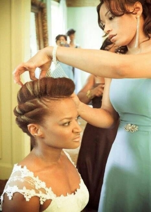 20 Tuck and Roll Styles That Are Too Pretty For Words. This is a gallery of hairstyles to use on your wedding day.