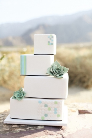 37 Stylish Geometric Wedding Cakes. Geometric patterns and shapes to inspire you to take your cake to another dimension.
