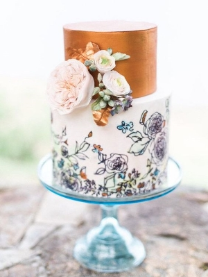 27 Gorgeous Wedding Cakes That Are Almost To Pretty To Eat. Hand crafted cakes that will amaze your guests.