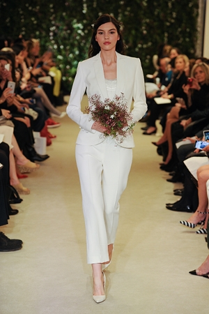 Inspiration for your wedding tuxedo or pant suit, direct from the fashion shows.