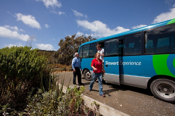 Stewart Island Experience Bus Tour