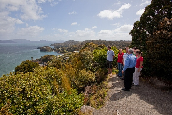 Observation Rock Outlook, Stewart Island, New Zealand.