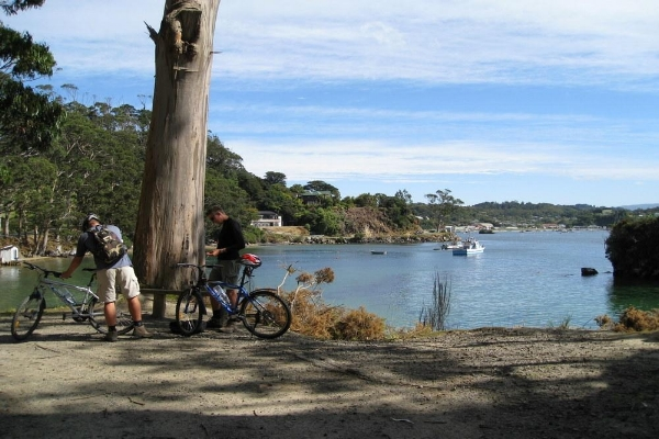 Copy of Bike tours on Stewart Island, New Zealand.