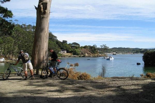 Copy of Bike tours on Stewart Island, New Zealand.