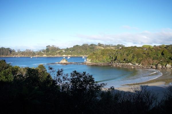 Copy of Beautiful Beaches on Stewart Island, New Zealand.