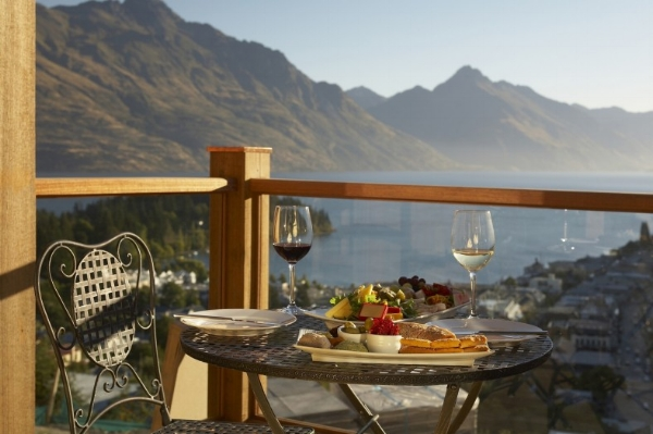 Breakfast on the deck of your suite.