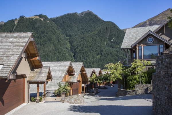 Commonage Villas, Queenstown, New Zealand.