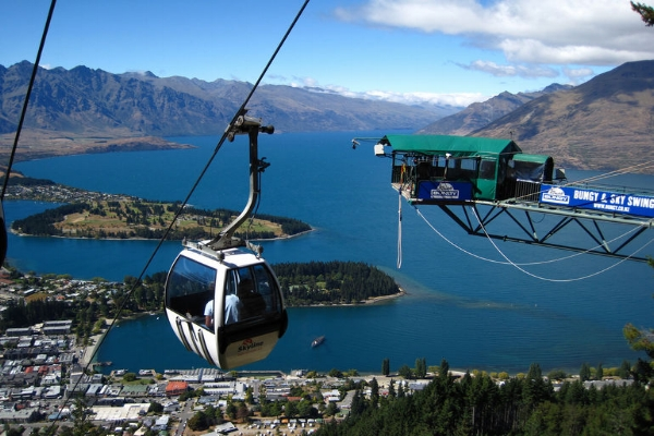 Skyline Rides, Queenstown, New Zealand.