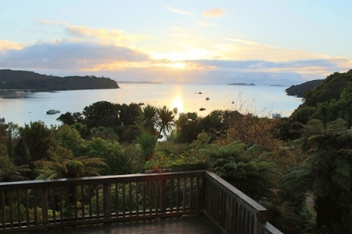 Stewart Island Lodge Gorgeous Views.