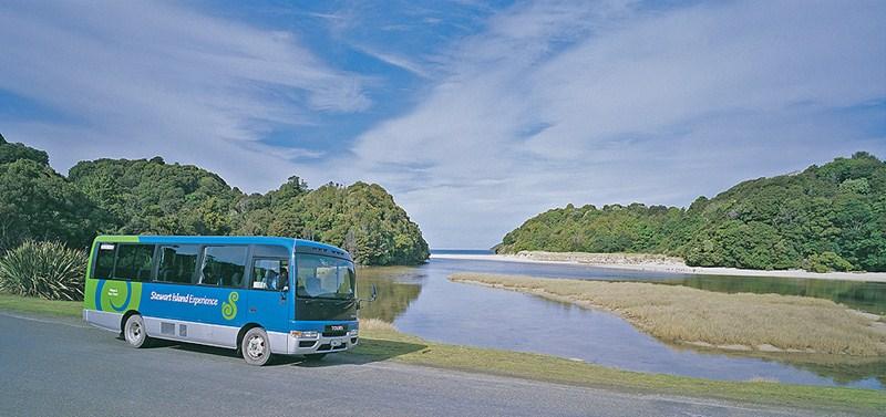 Stewart Island Bus Trip