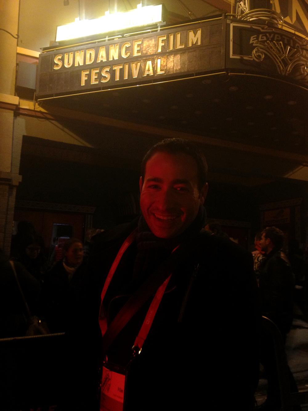 Elliott Magen at 2013 Sundance Film Festival