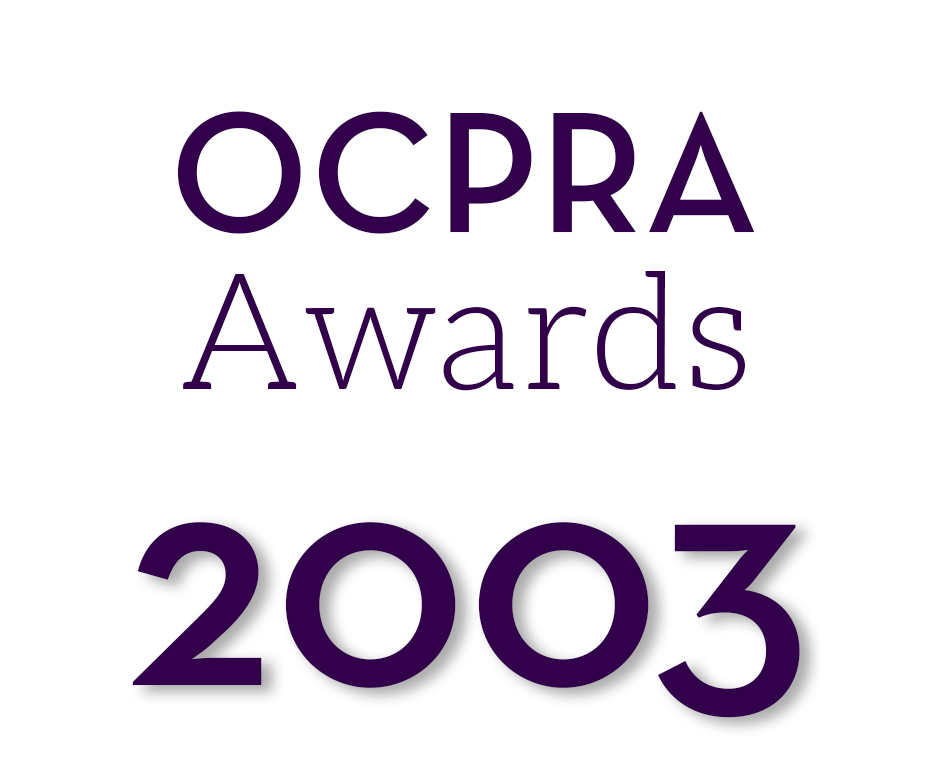 OCPRA Awards Graphic 2003.jpg