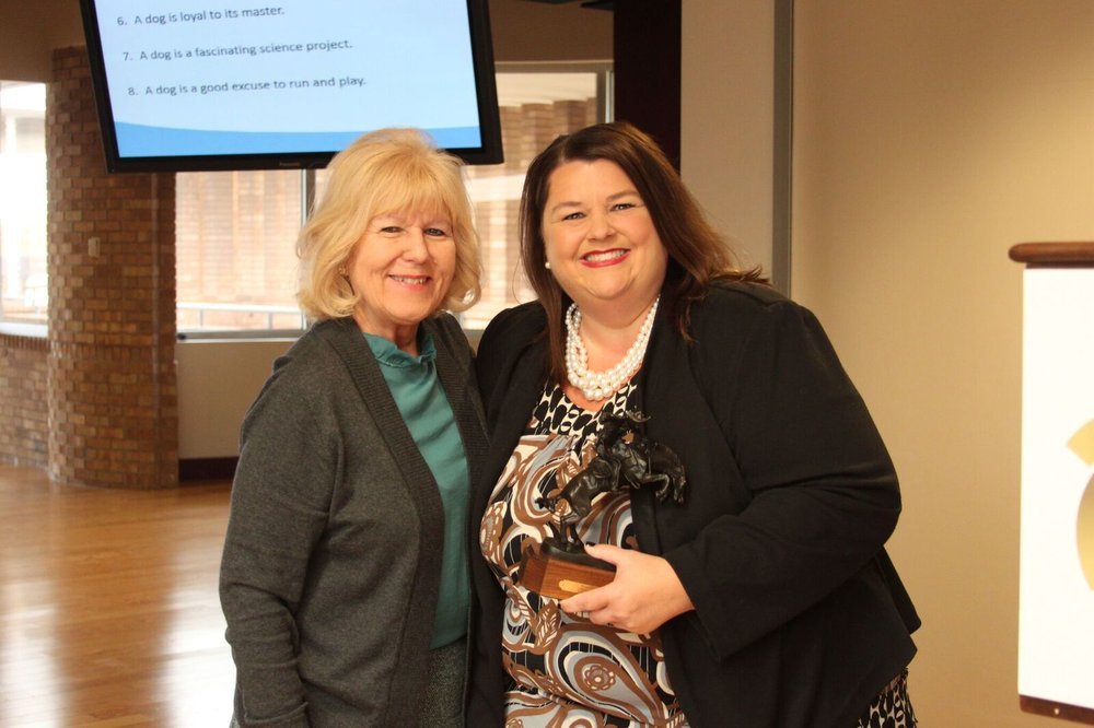 2017 - Angela Caddell    Associate Vice Chancellor for Communications   Oklahoma State Regents for Higher Education.
