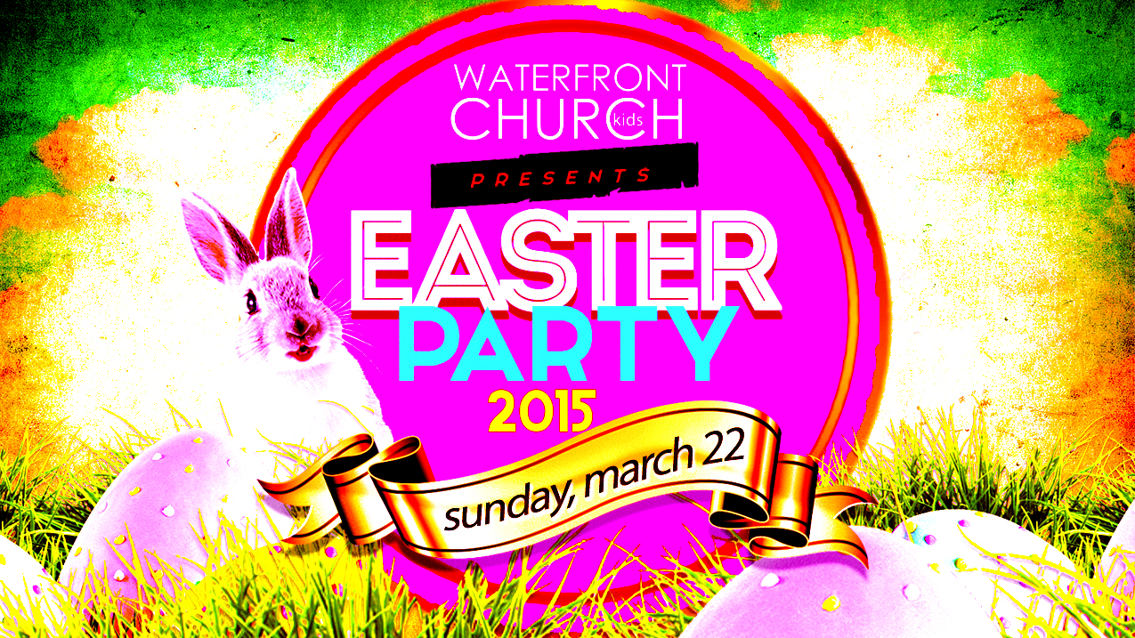 easter party waterfront church