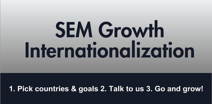 SEM Internationalization Digital Tigers