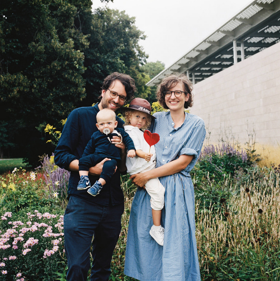 Colour Medium Format Hasselblad Family Portrait