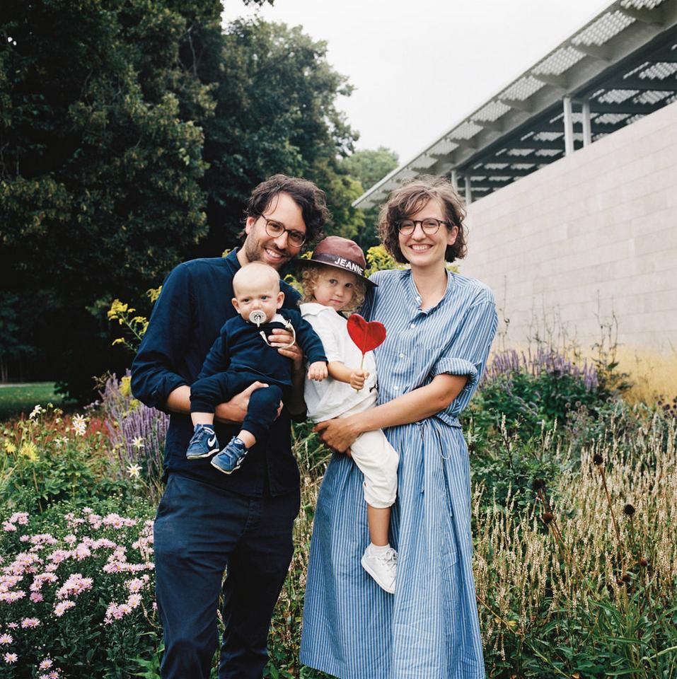 Colour Medium Format Hasselblad Family Portrait