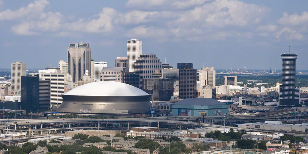 We're based in New Orleans, but our clients projects take us everywhere...