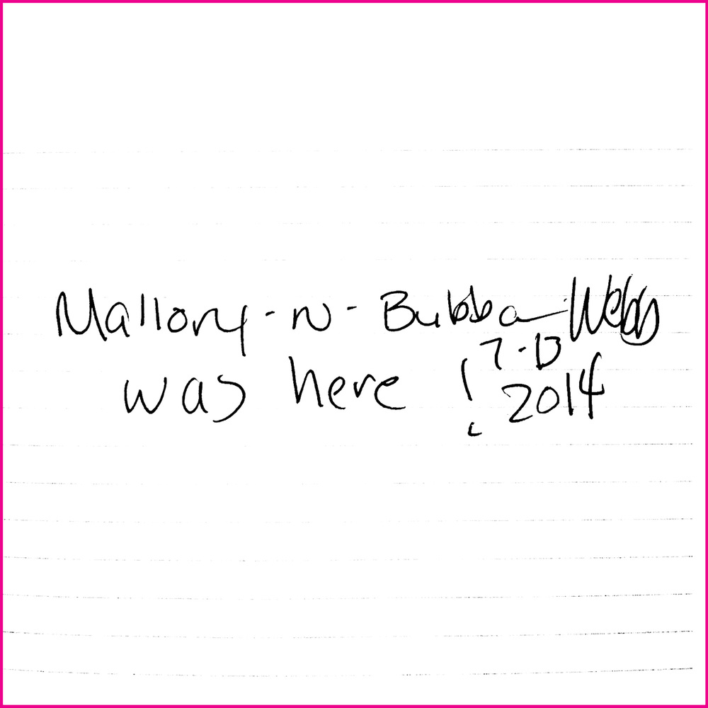 Mallory-N-Bubba Webb was here! 7-13-2014