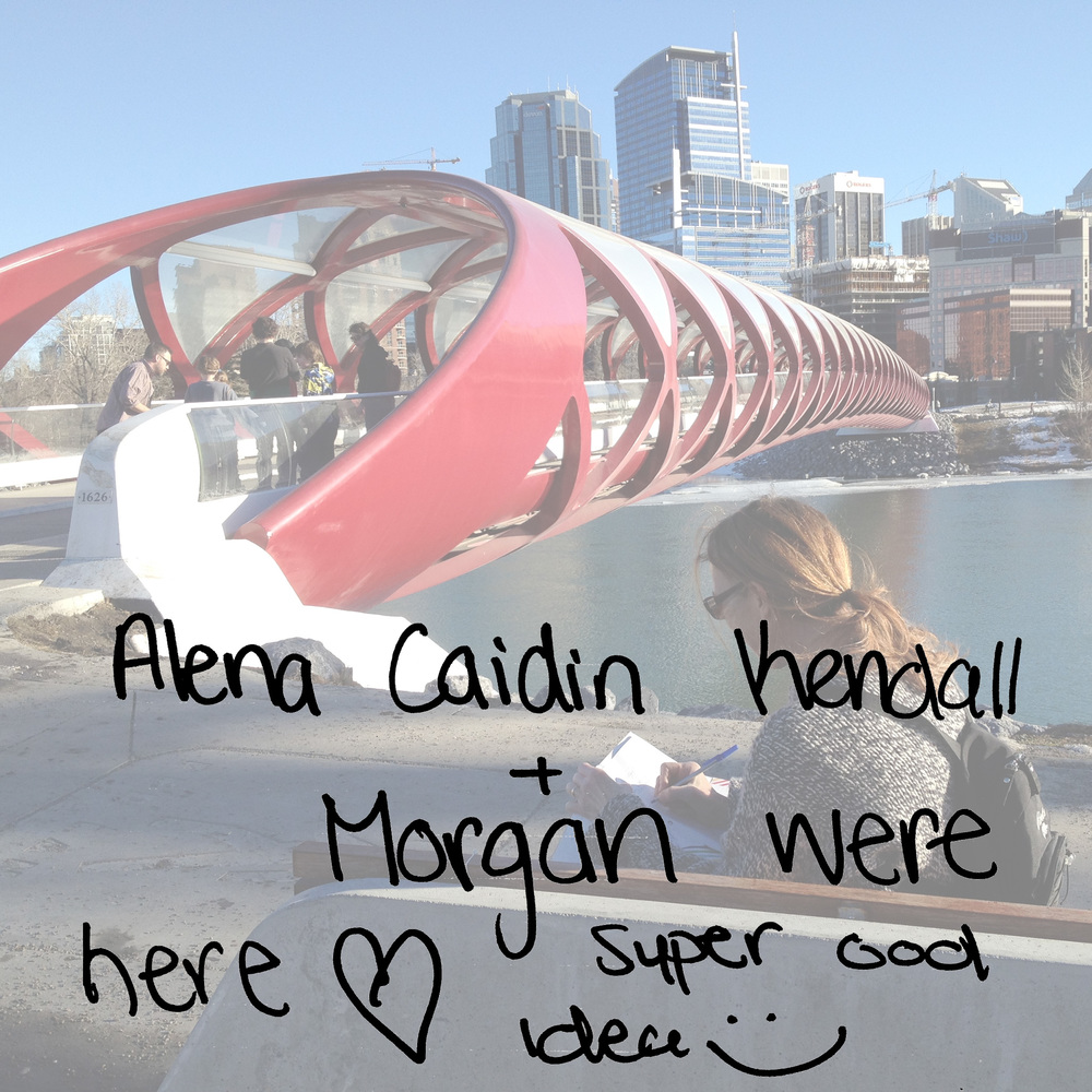 Alena Caidin Kendall + Morgan were here. Super cool idea :)