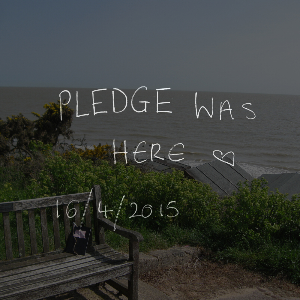 Pledge was here <3 16/4/2015