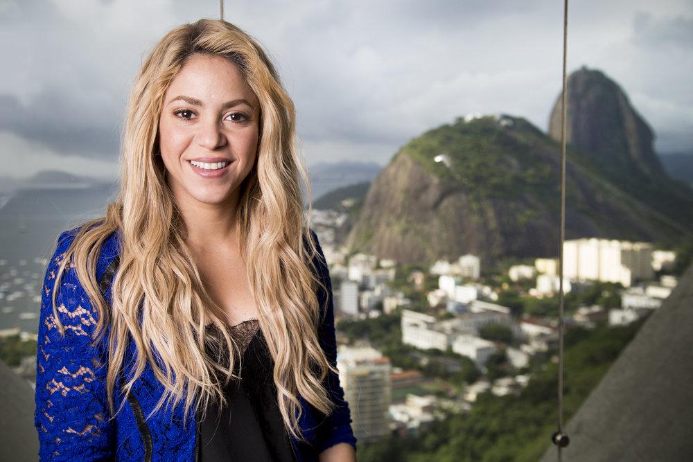 Shakira, cantora e compositora colombiana
