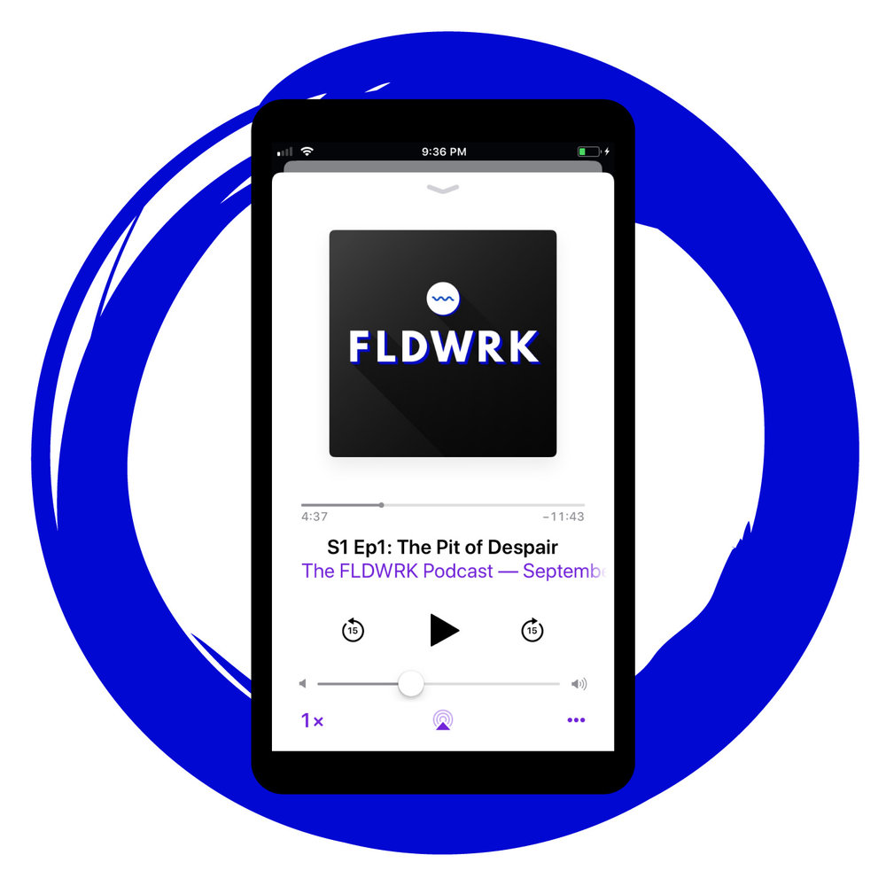 The FLDWRK Podcast Apple iTunes Artwork