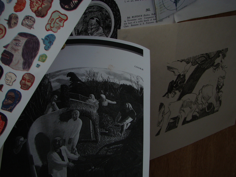 Nick White. Stanley Spencer. Paul Gauguin.