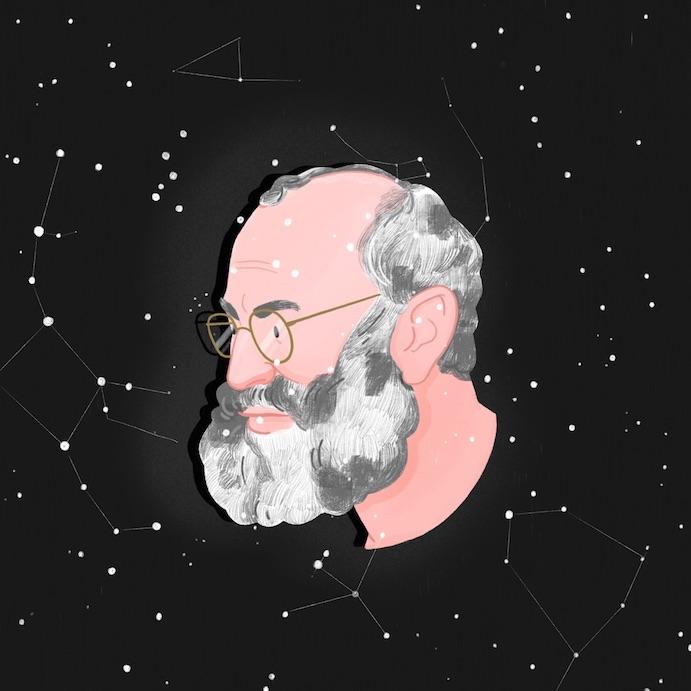 A portrait of Oliver Sacks