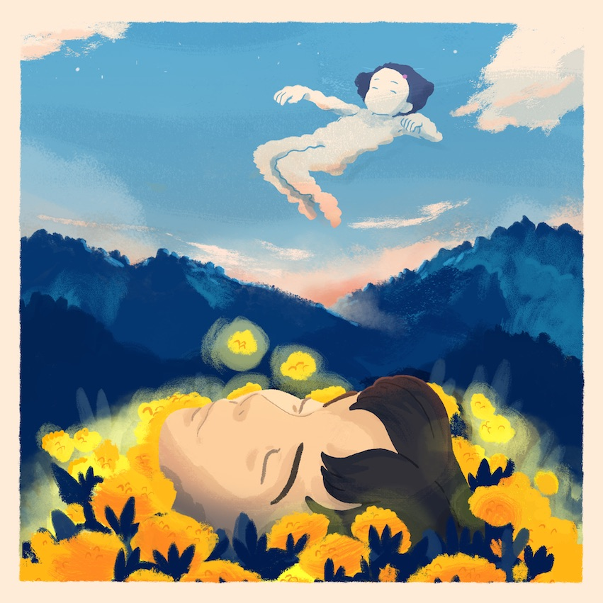 Fan Art of the Studio Ghibli film 'Only Yesterday'