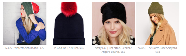 Find the hats here: ASOS | IGWT | Nasty Gal | ASOS