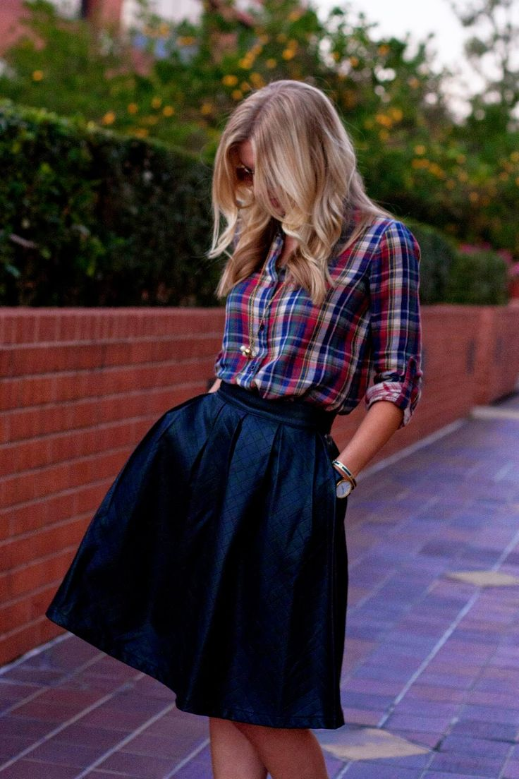 Plaid Perfection (Pinterest)