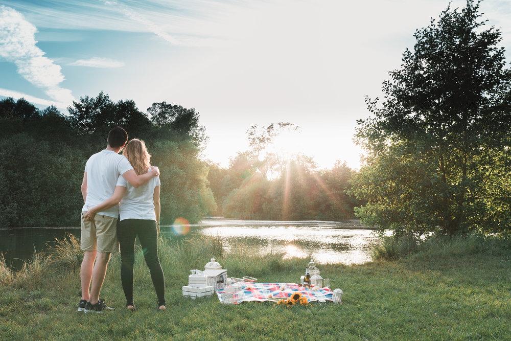 Image of Lacey & Dan Harris' Engagement Photoshoot in Heybridge, Maldon