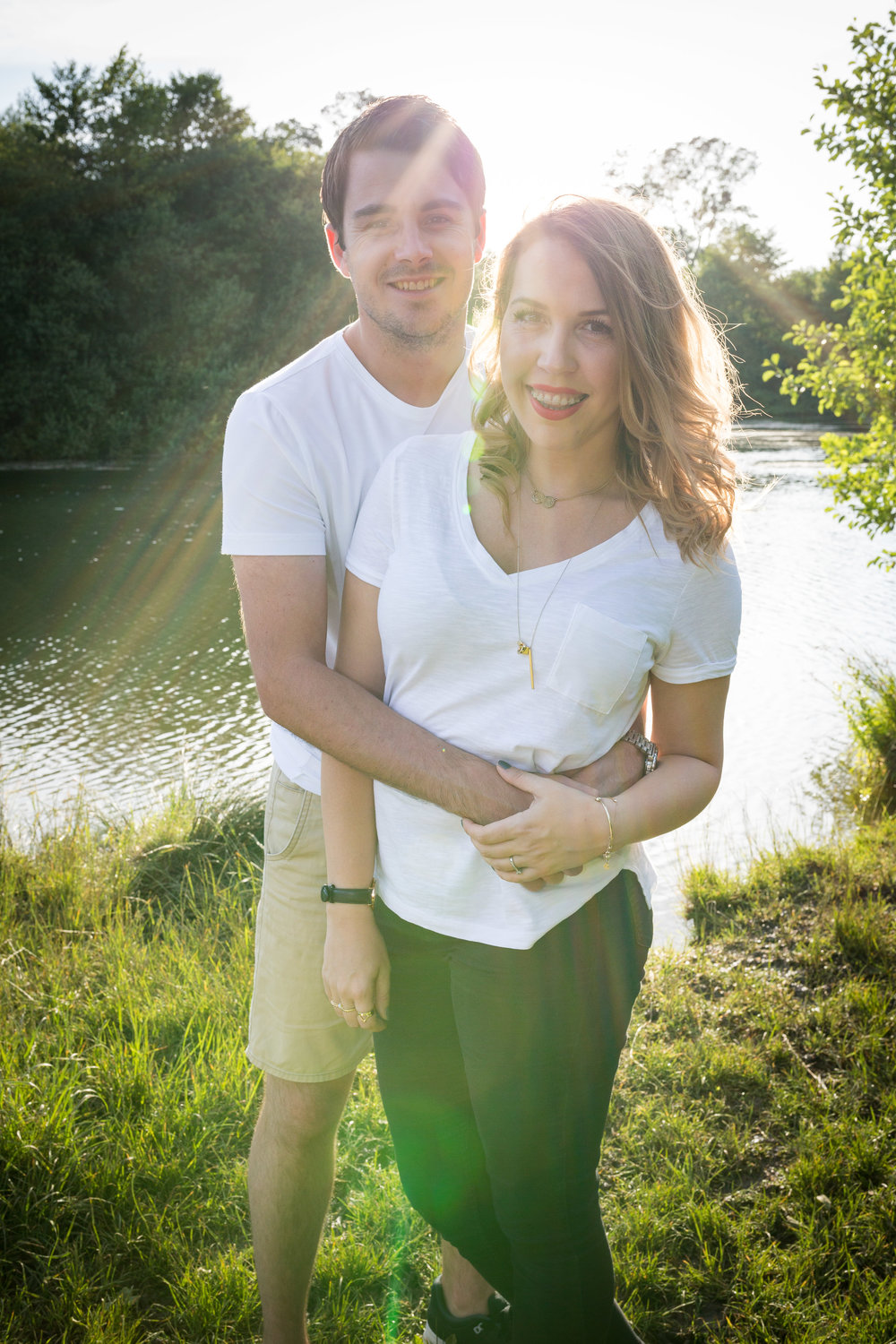 Image of Lacey & Dan Harris' Engagement Photoshoot in Heybridge, Maldon
