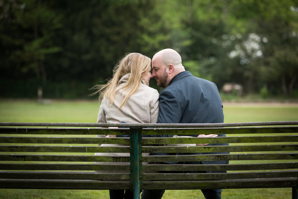 Image of Paula & Martin's Engagement Photoshoot at Hyland's Park, Chelmsford