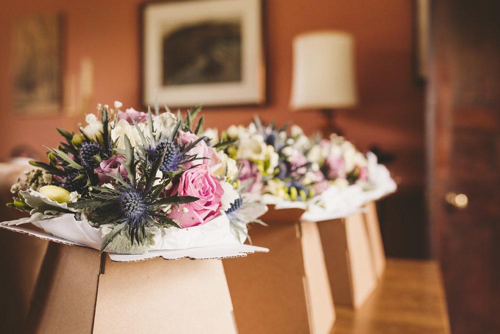 Wedding flowers by Springfield Florist