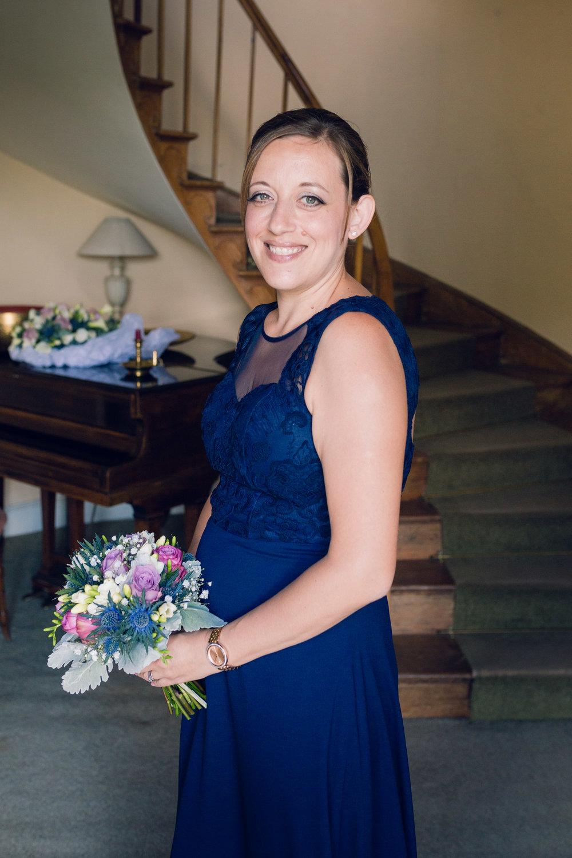 Bridesmaid at Great Lodge