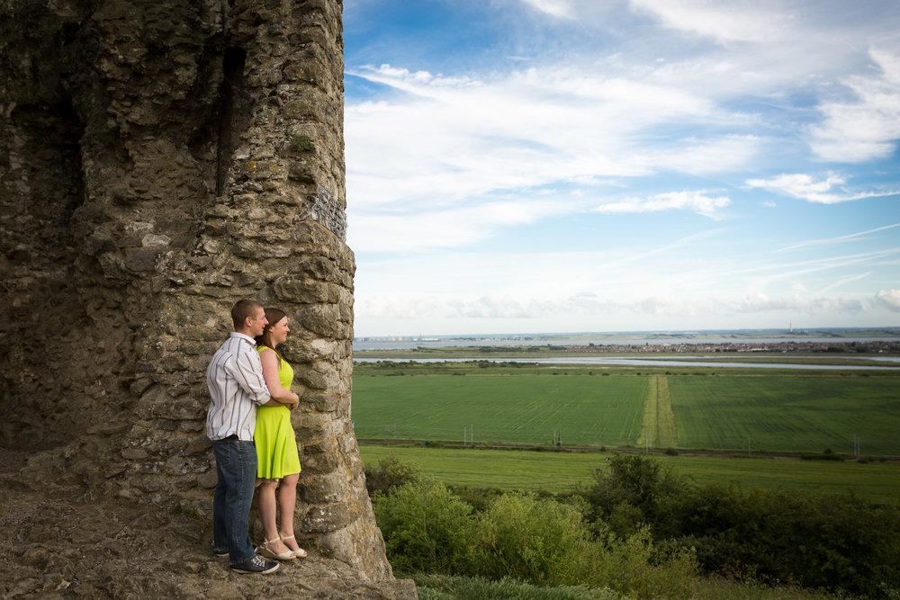 Hadleigh Castle Engagement Session
