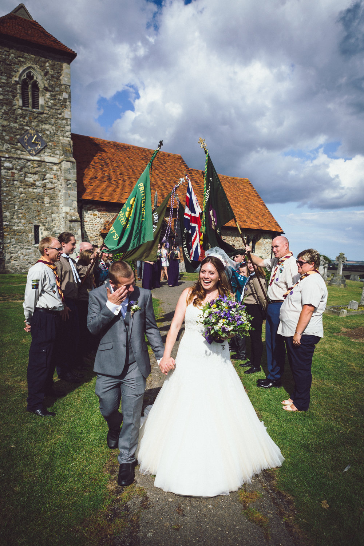 Essex Wedding Photographer Scouts