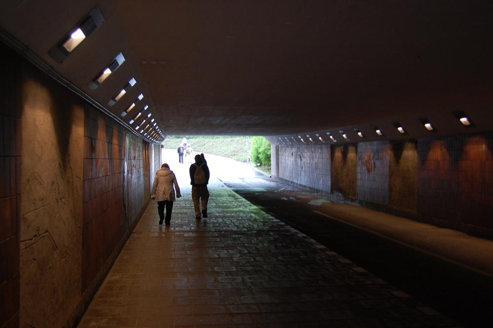 A tunnel in Örebro (Not the 'Rape Tunnel')