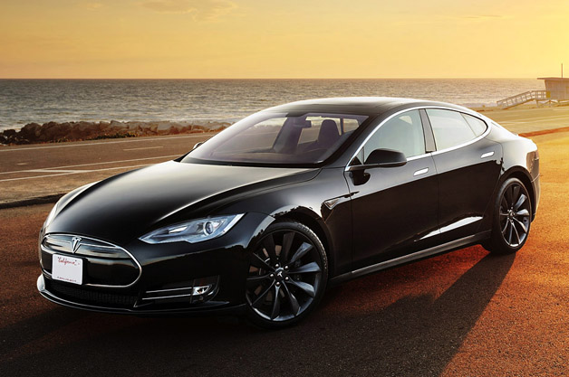 Tesla (this would be that poster). Source:  Autoblog.com