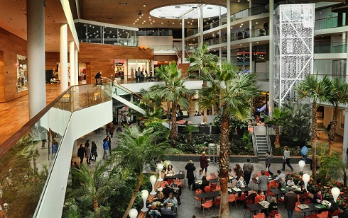 Sollentuna shopping center (picture by Sollentuna Centrum )