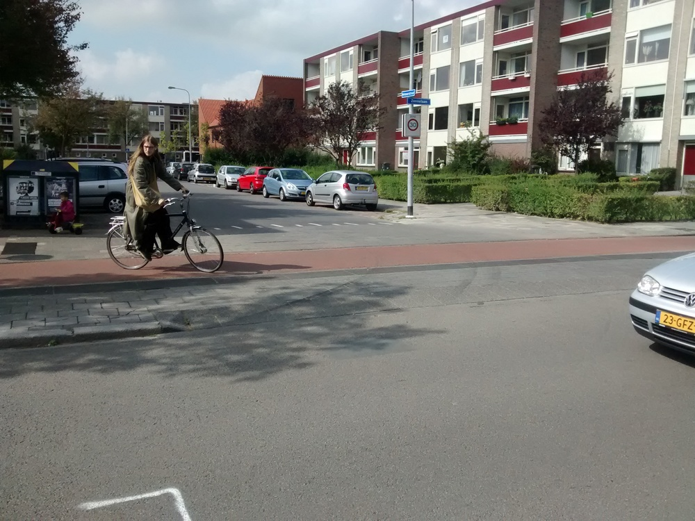 Continuous sidewalk, Groningen