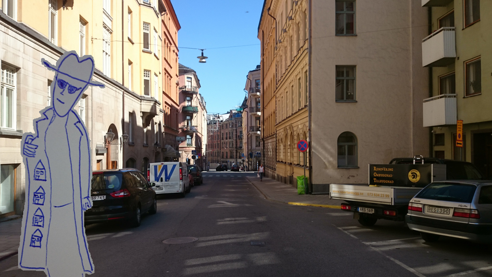 Stockholm's black rental-housing market. Image by: Sascha Benes