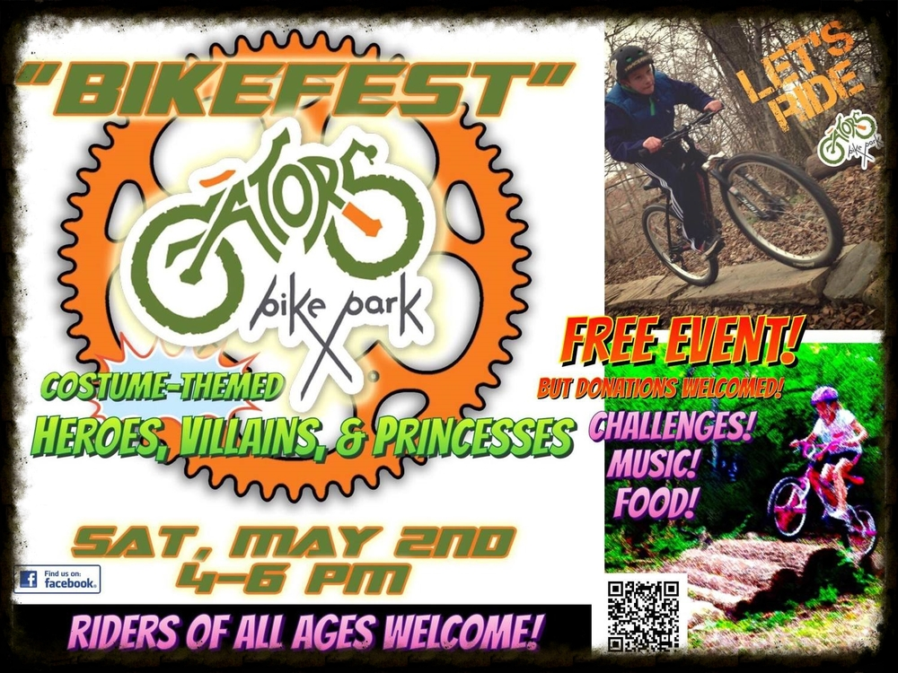 "Don't forget to mark your calendars for BikeFest, a great ""Moving Beyond the Trail"" event for your kids!"