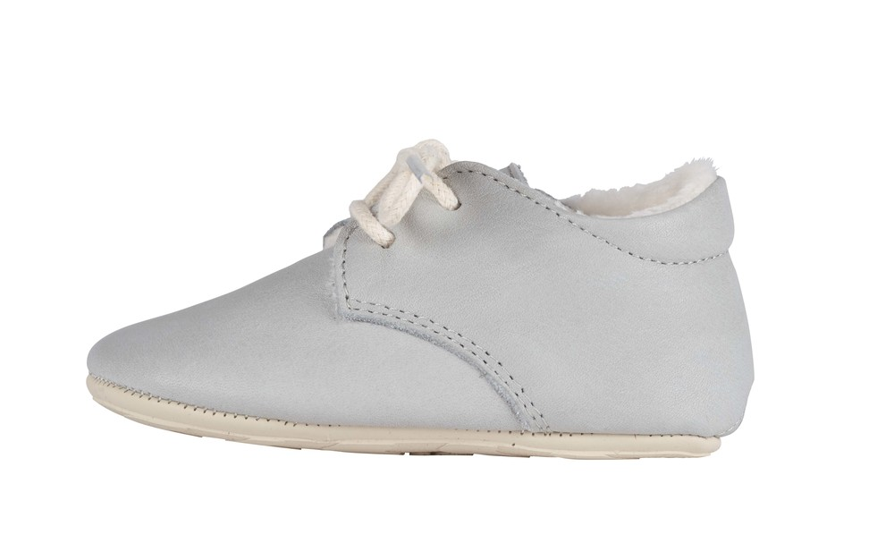 Dove Grey Leather