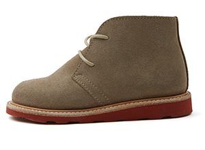 Stone Suede/Brick Sole